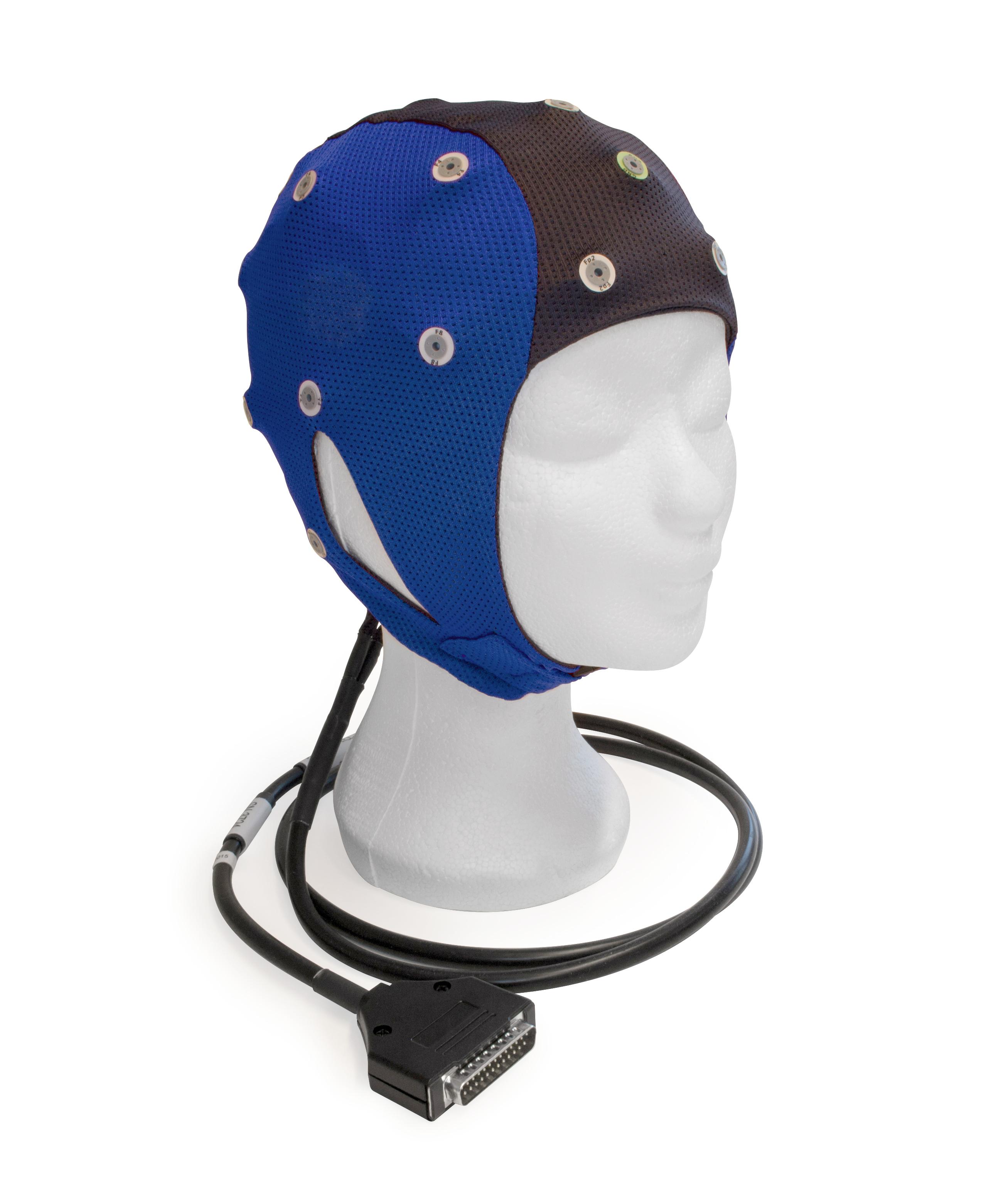 EEG čepice ANT-Neuro: L (56 – 61 cm, Modročerná)