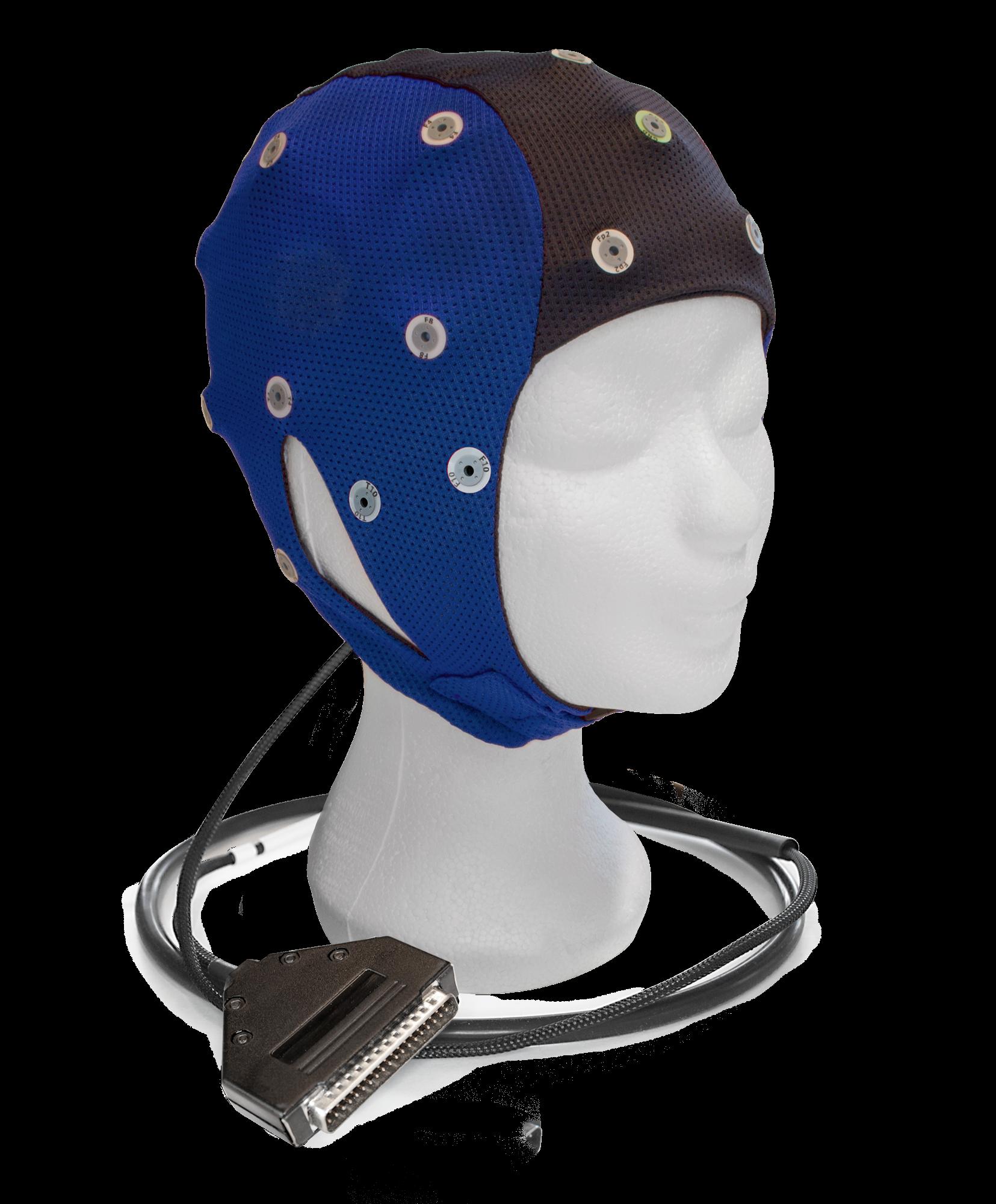 EEG čepice ANT-Neuro IFCN: C (43 – 47 cm, Modrá)