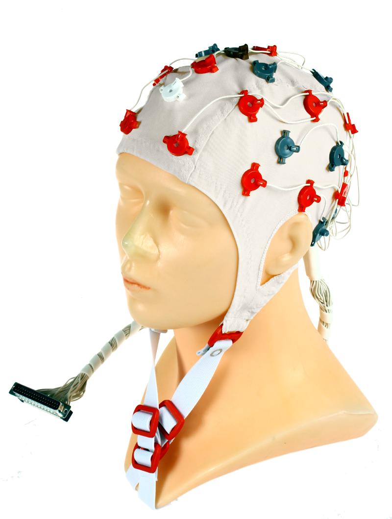 EEG čepice FlexiCAP 32 kanálová: L (59 – 63 cm, bez redukce pro připojení 45-890)