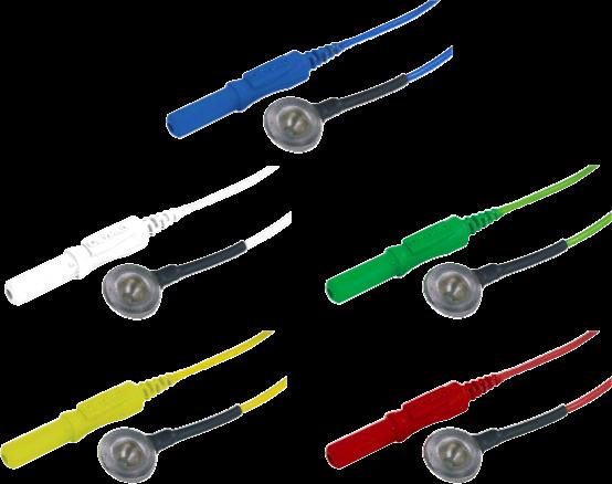 Kalíšková elektroda 9mm Ag (stříbrná): mix 5ks