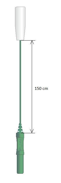 Prodlužovací kabel Touch-Proof (1M - 1F): 1,5m