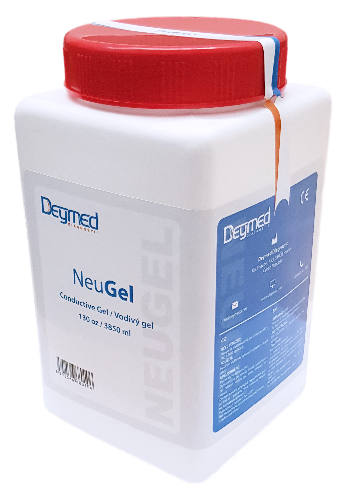 NeuGEL - EEG elektrovodivý gel Deymed: 3850ml (130 oz)