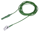 Kabel pro připojení nalepovacích elektrod - klips konektor 1xTP