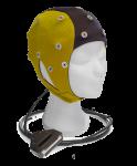 EEG čepice ANT-Neuro IFCN: S (47 – 51 cm, Žlutočerná)