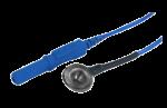 Kalíšková elektroda 9mm Ag/AgCl (chloridovaná): modrá
