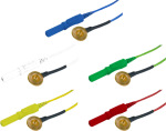 Kalíšková elektroda 9mm Au (zlacená): mix 5ks