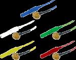 Kalíšková elektroda 9mm Au (zlacená)