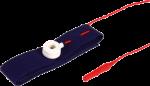 EKG elektroda pásková Sn (cín): červená