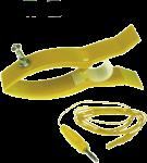 EKG elektroda plastový skřipec Sn (cín): žlutá
